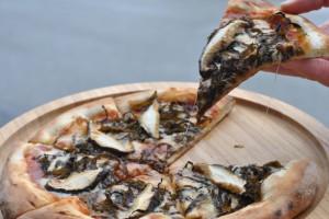 珪藻土ピザ1