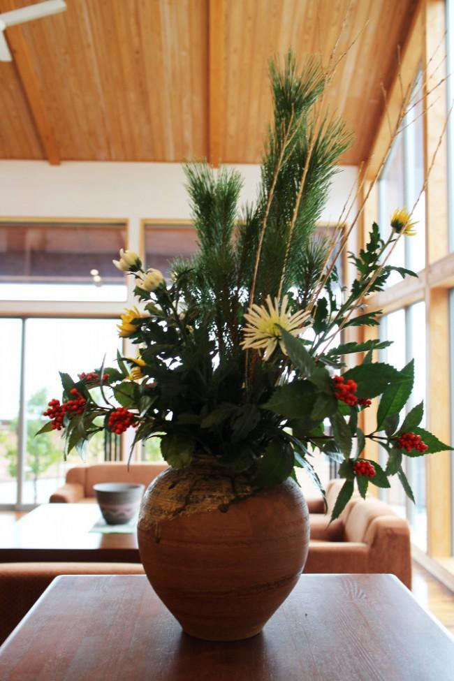 お正月お花4
